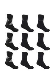 9 Paar Casual Sokken