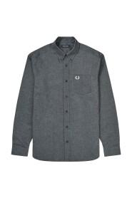 Oxford langærmet skjorte