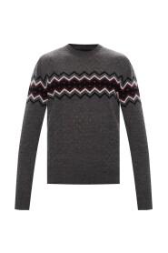 Sweter z perforacją
