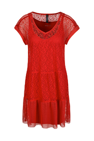 Marccain Sports - JS 2105J10 275 - rood kanten kleed
