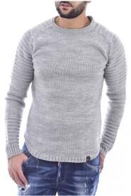 Pull ajusté avec laine