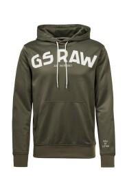 G-STAR D16474 A650 GSRAW HDD SWEATER Men DARK GREEN