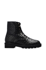 Mila woven ankle boots
