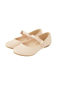 Shimmer Pearl Ballerina Shoes