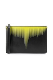 county of milan - wings pattern clutch bag