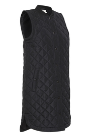 KAmaria Quilted Waistcoat Long