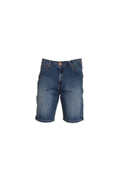 Blå Wrangler 5 Pocket Short