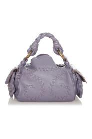 Pre-owned Intrecciato Leather Handbag