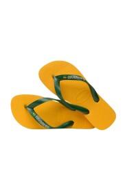Brazil Logo Flip Flops