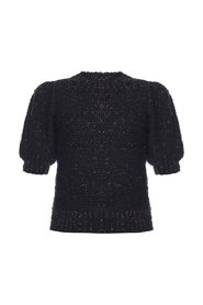 Zula sweater with puff sleeves