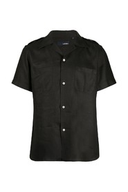 short sleeves shirt with chest pockets
