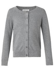 Rosemunde - Cardigan (74149) - Light Grey Melange