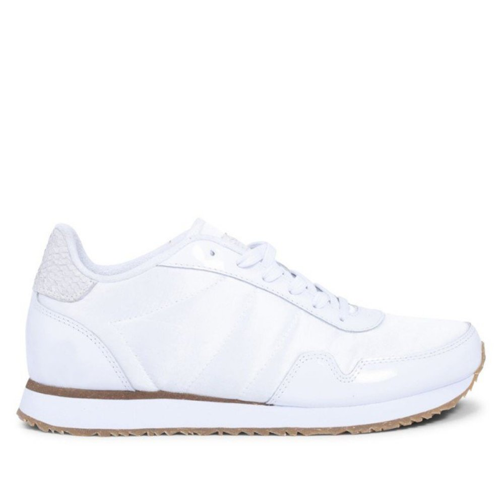 Woden Sneakers, Mary, White