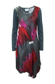 Abstract Print Dress Pre Owned Condition Very Good