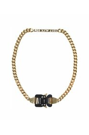 Logo Chain Buckle Necklace