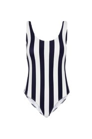 Swimsuit Striped one-piece