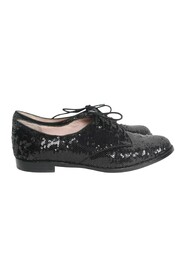 Messy Sequins Loafers