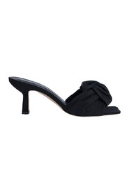 Lana Black Grosgrain Shoes