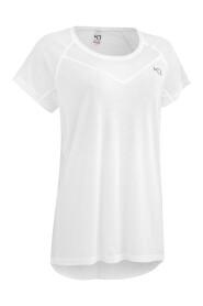 Hvit Kari Traa Maria T-skjorte Dame