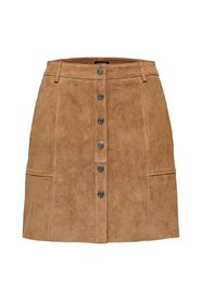 Leather skirt Suede