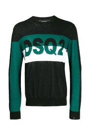 dsq2 color block jumper