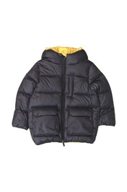 TWO-TONE DOWN JACKET