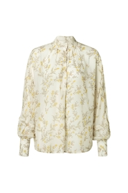 Blouse with flower print 110176-914