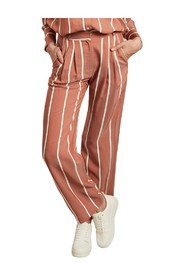 Papier Matelas striped flared trousers