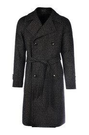 DOUBLEBREASTED BELTED trenchcoat