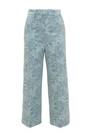 Trousers with Embroideries