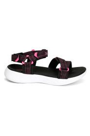 Sort/Rosa Skechers Lil Radiant Sandaler, BN 166