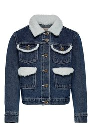 Denim jacket sherpa