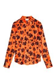 Silk Stretch Satin Shirt
