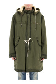 abramo parka with ecological fur