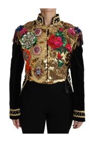 Velvet Crystal Sequined Jacket