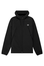 Sort Fred Perry Panelled Zip Jacket Ytterplagg