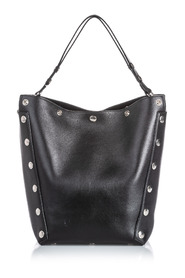 Studded Leather Calf Camden Shoulder Bag