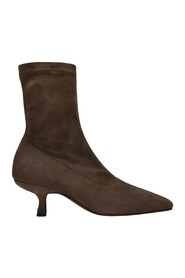 Audrey Ankle Boots Suede Calfskin