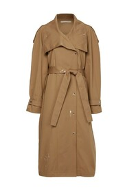 Wikitoria Trench Coat Embroidery