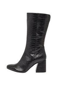 Boots Faux Snakeskin embossed