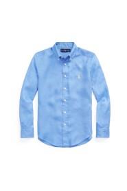 Linen Long Sleeve Skjorter