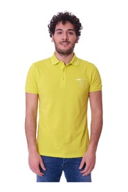 YELLOW SLIM FIT TRUSSARDI JEANS POLO