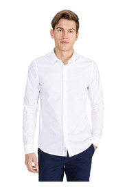 CALVIN KLEIN JEANS J30J314166 CHEST LOGO SHIRT Men BRIGHT WHITE