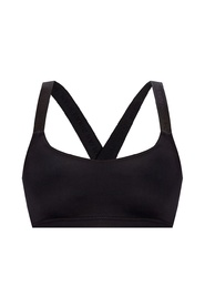 Sports bra with logo