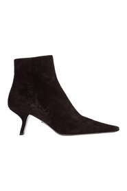 women's suede ankle boots booties