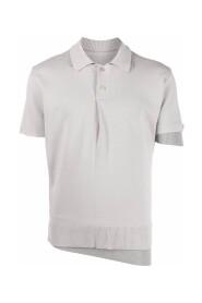 Layered polo shirt
