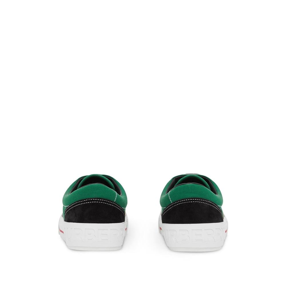 Burberry Green Sneakers Burberry