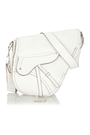 Pre-owned Saddle Leather Crossbody Bag