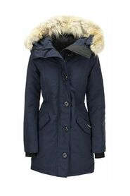 ROSSCLAIR - Parka with hood and fur coat