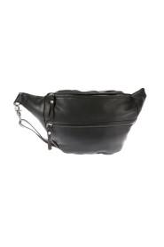 big belt bag in leather